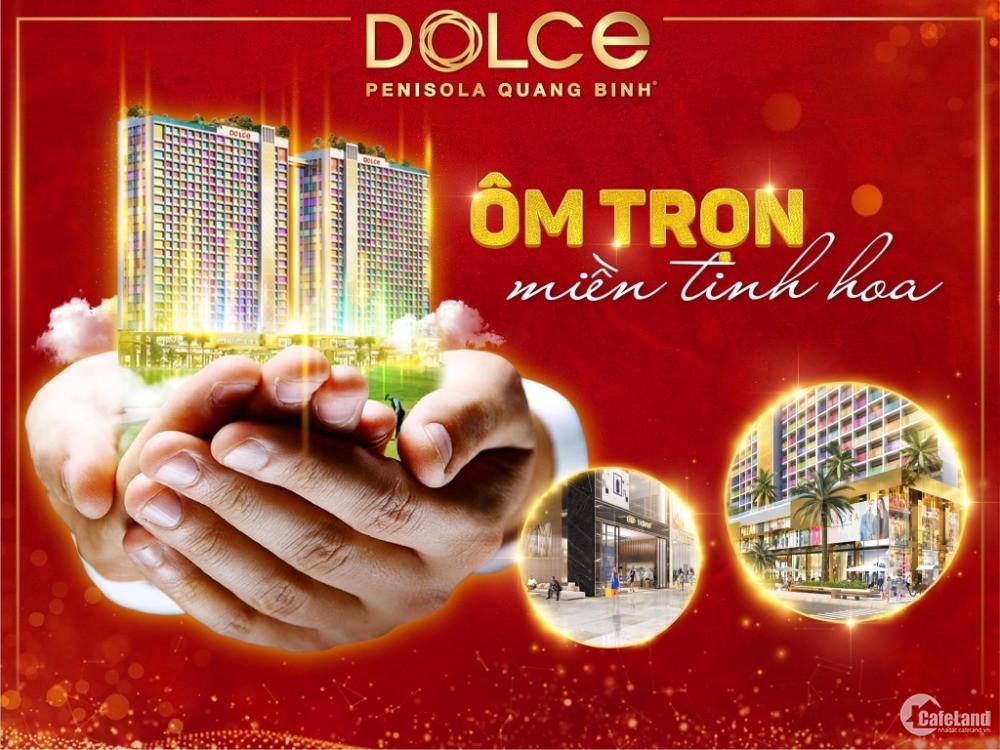 Bán căn hộ mặt tiền đường Võ Nguyên Giáp view biển Bảo Ninh, TP Đồng Hới