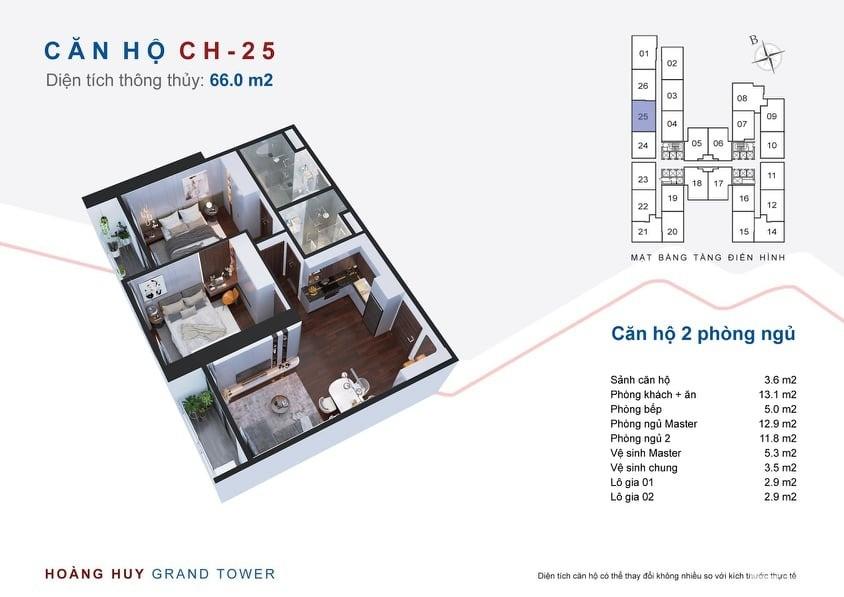 THỜI ĐIỂM VÀNG SỞ HỮU CĂN HỘ CHUNG CƯ HOÀNG HUY GRAND TOWER, Sở Dầu, Hải Phòng