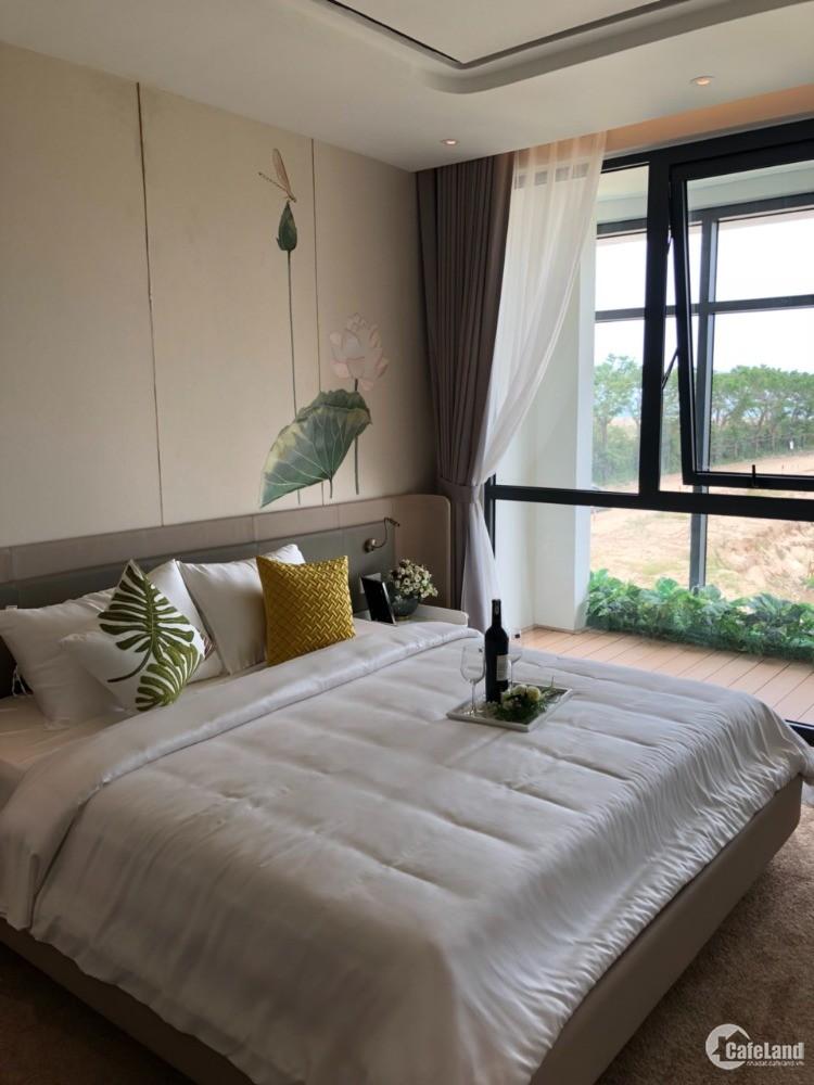 Căn hộ Aria Đà Nẵng nằm trong khu Resort 5 sao mặt biển Non Nước, trả trước 25%.