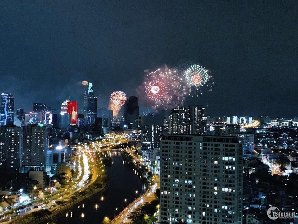 Chung cư The Gold View 93.9m² 2PN, Q4