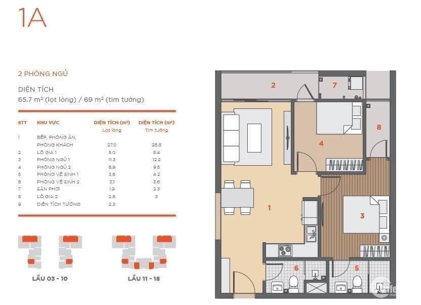 Bán căn hộ Hausneo 2PN quận 9 giá 2.40 Tỷ vị trí đẹp nhất toàn khu