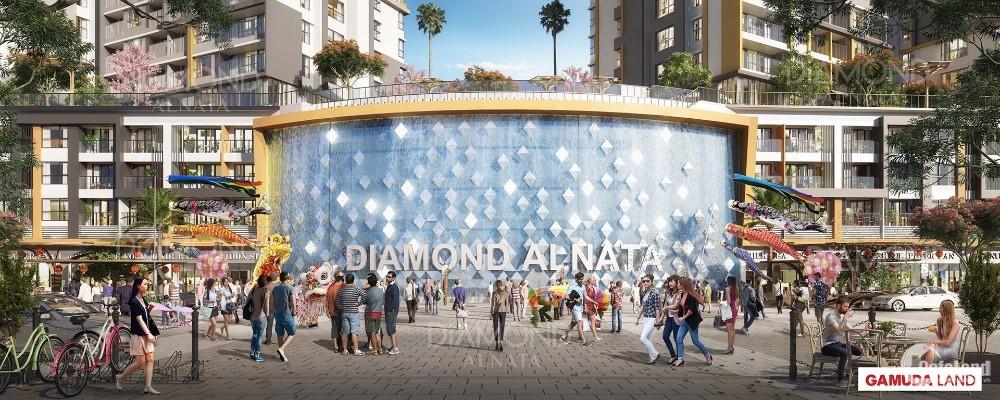 DIAMOND ALNATA TÂN PHÚ CĂN 92.5M2 MẶT TIỀN ĐẠI LỘ