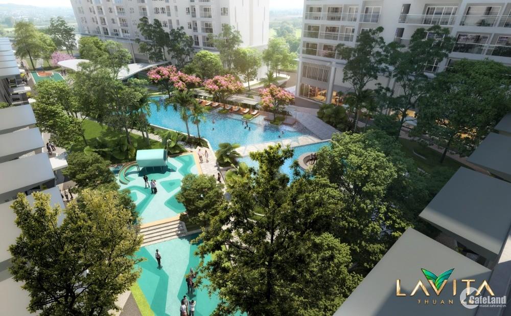Tiến độ xây dựng Lavita Thuận An mới nhất, căn hộ mặt tiền Đại lộ Bình Dương