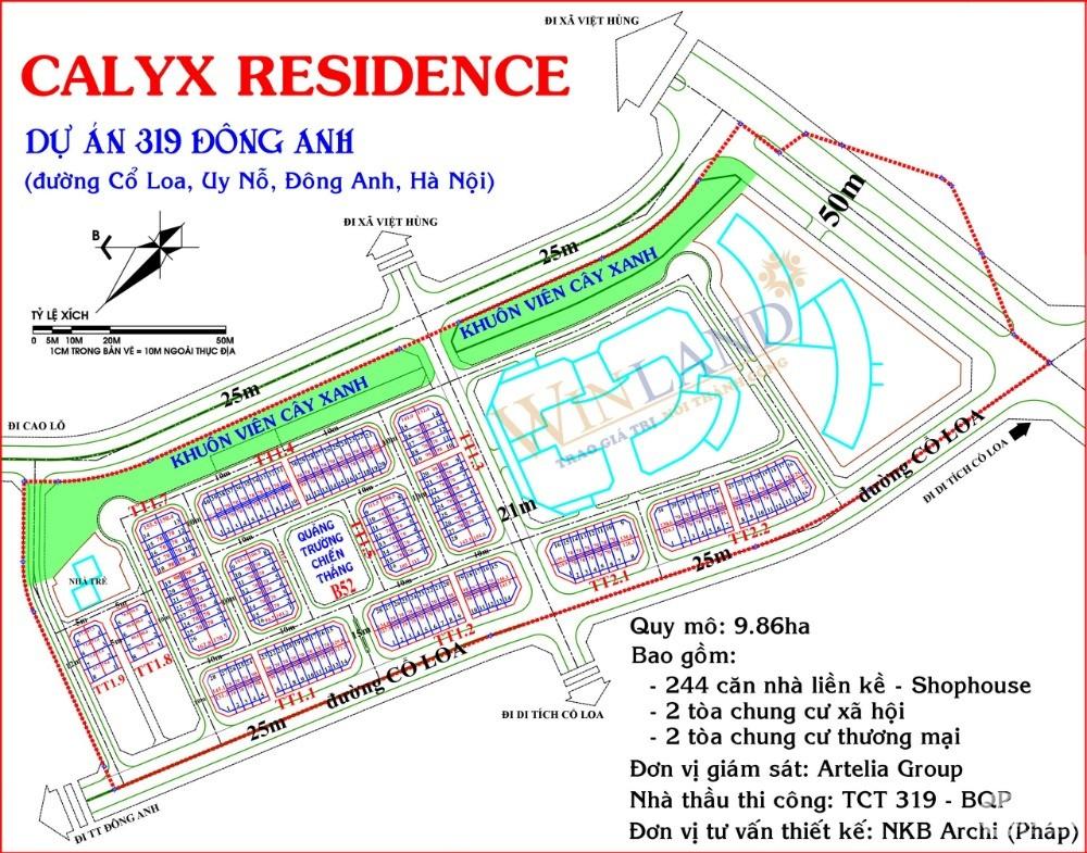 Đặt chỗ dự án Calyx Residence - Dự án 319 BQP