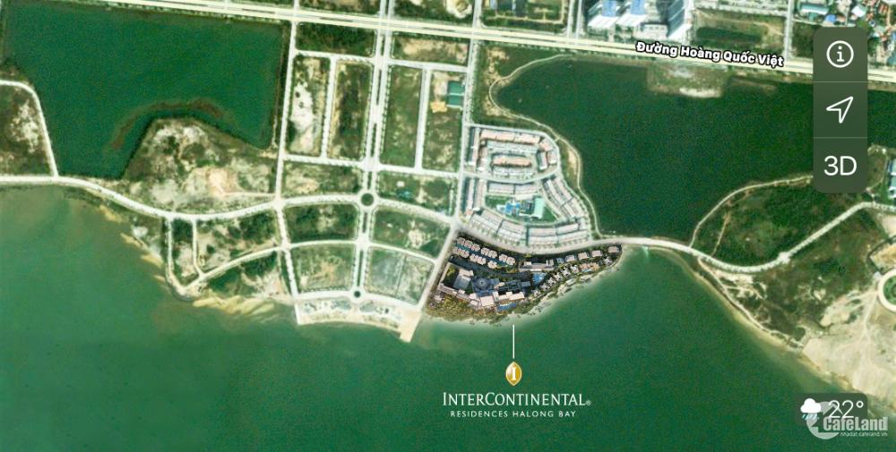 Villa InterContinental Halong Bay  5* cam kết LN 8%/năm giỏ hàng cuối 10 căn