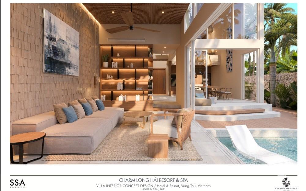 Biệt thự nghỉ dưỡng, Charm Resort Long Hải