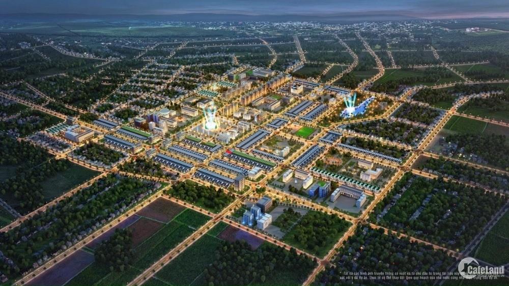 Đất nền thổ cư khu đô thị kiểu mẫu mới – TNR Stars Dak Doa – Gia Lai
