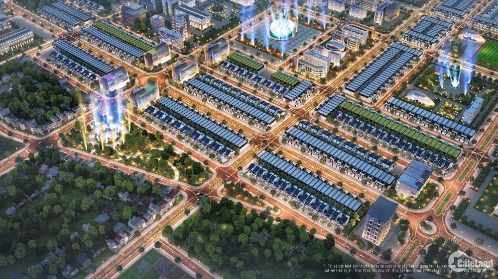 Đất nền khu đô thị quy mô bậc nhất Gia Lai – TNR Stars Đak Đoa
