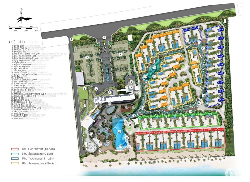 Siêu Villa trực diện biển Hồ Tràm, vận hành 2022, cam kết LN 5% PKD 0904 988 489