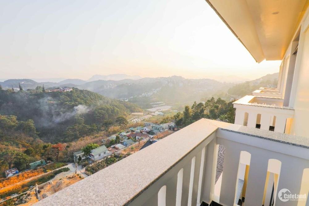 Bán khách sạn lớn 50 phòng view rừng thông phường 3 thành phố Đà Lạt