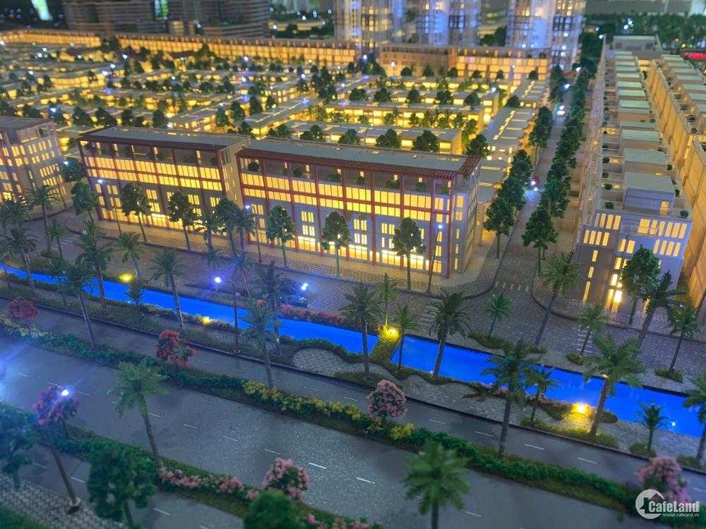 Bán Mini Hotel tại Tổ hợp đô thị nghỉ Thanh Long Bay, 1 trệt 4 lầu, 2 mặt tiền