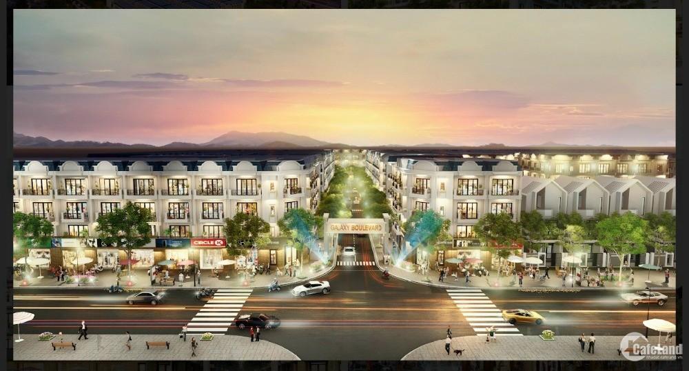 Nhà phố Galaxy Boulevard - khu đô thị thương mai dịch vụ Bà Rịa