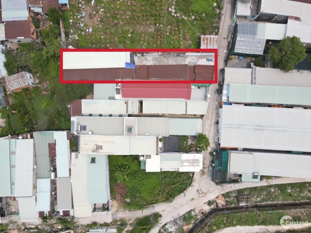Bán đất phường tân mai, tặng nhà cấp 4 va 9 phòng trọ, ngang 9 x 41m