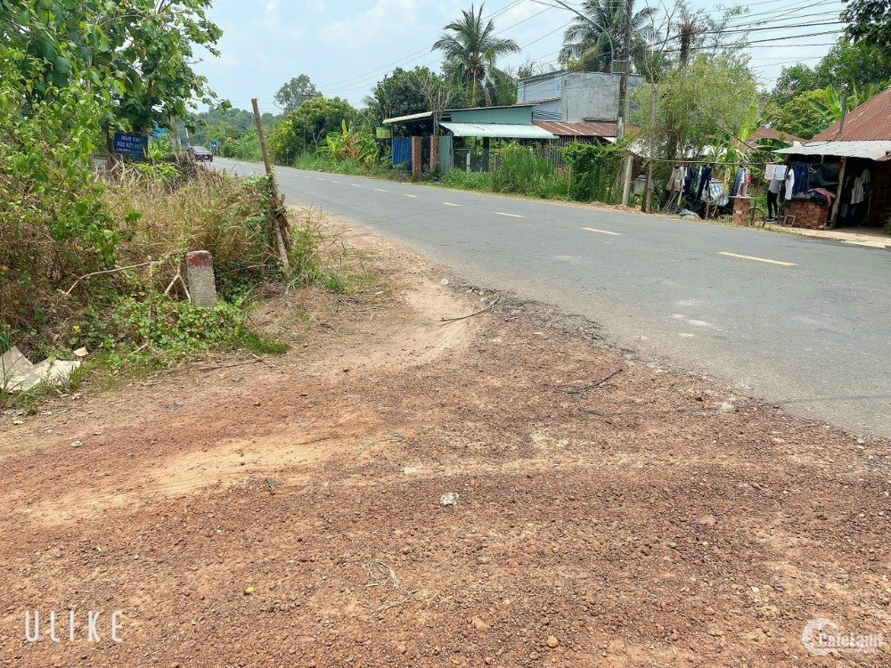Đất có thổ cư ngay trường học Phước Thạnh, gần KCN Phước Đông, Gò Dầu, Tây Ninh.