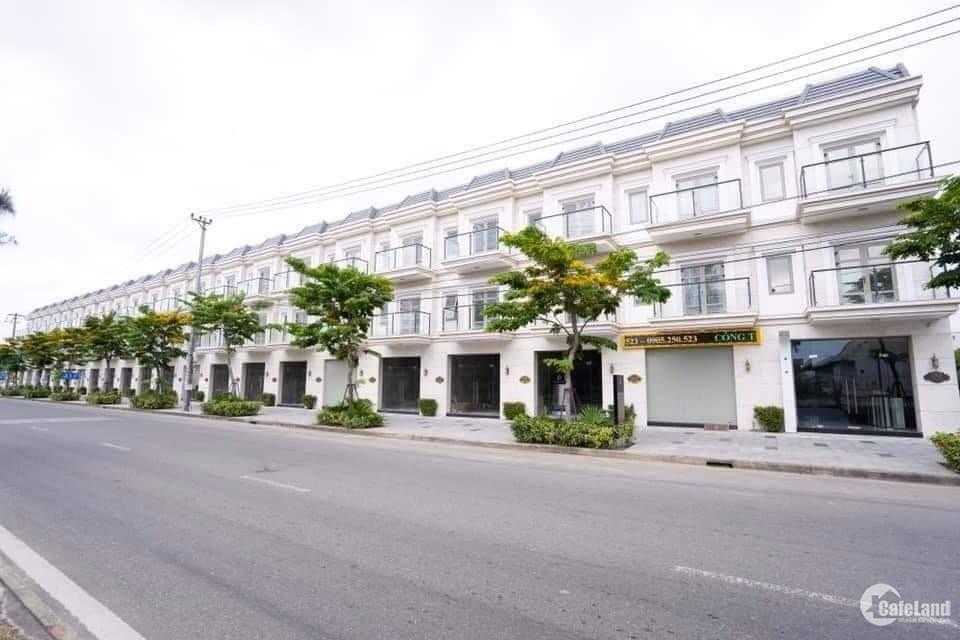 Nhà mặt tiền đường Mê Linh thuộc dãy shophouse Lavish Infinity