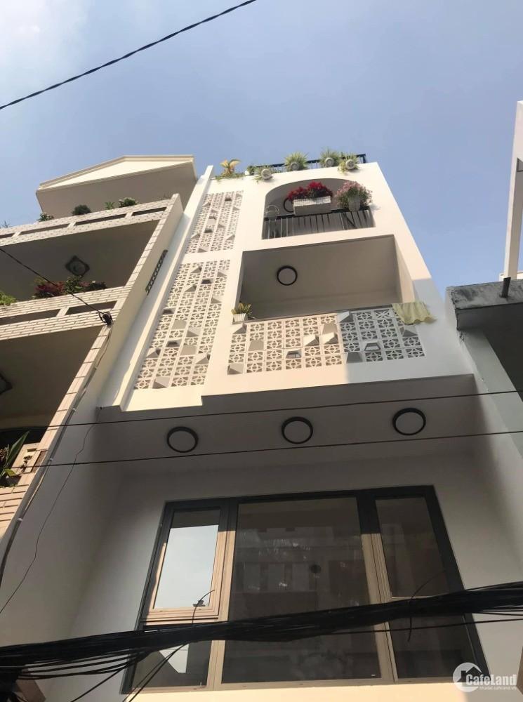 Cực hiếm Võ Văn Tần, Quận 3 xe tải cách 15m, 5 tầng, hẻm thông 6.8 tỷ.