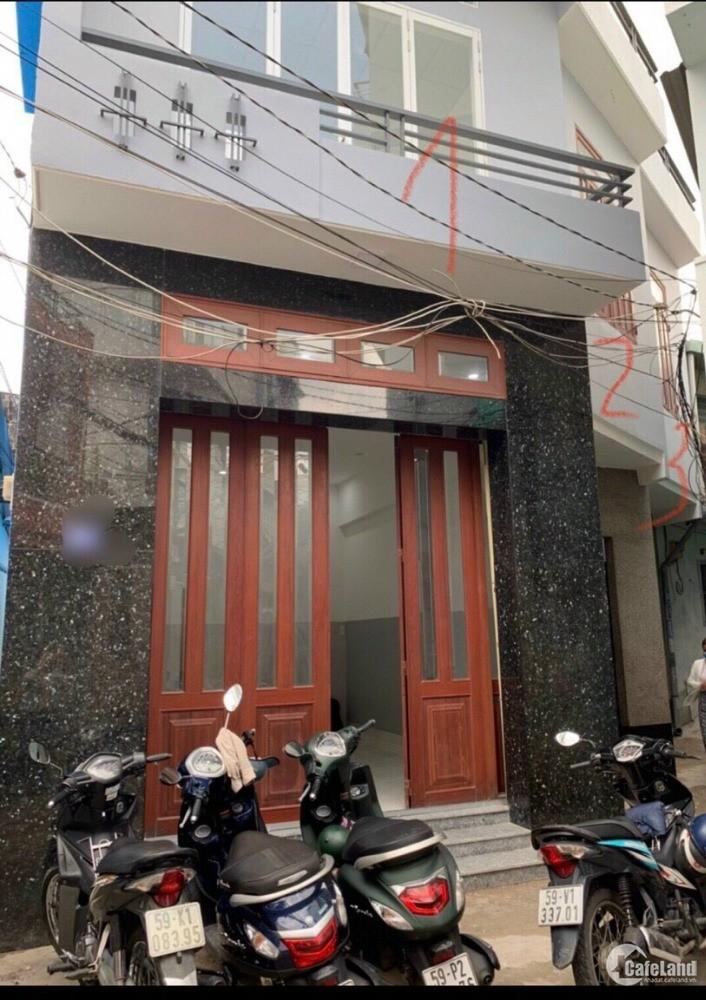 8x8m Nhà hẻm 76 Bà Hom ,P.13, quận 6, hẻm thông ra chợ Phú Lâm , đg Tân Hoà.