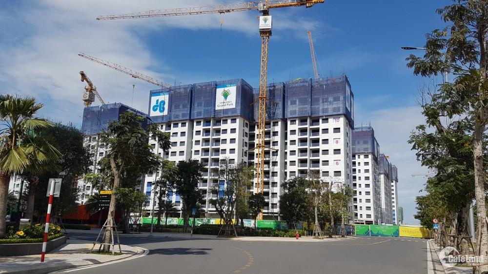 Căn hộ Vinhome Grand Park hỗ trợ thanh toán 499tr nhận nhà - 24 tháng không lãi
