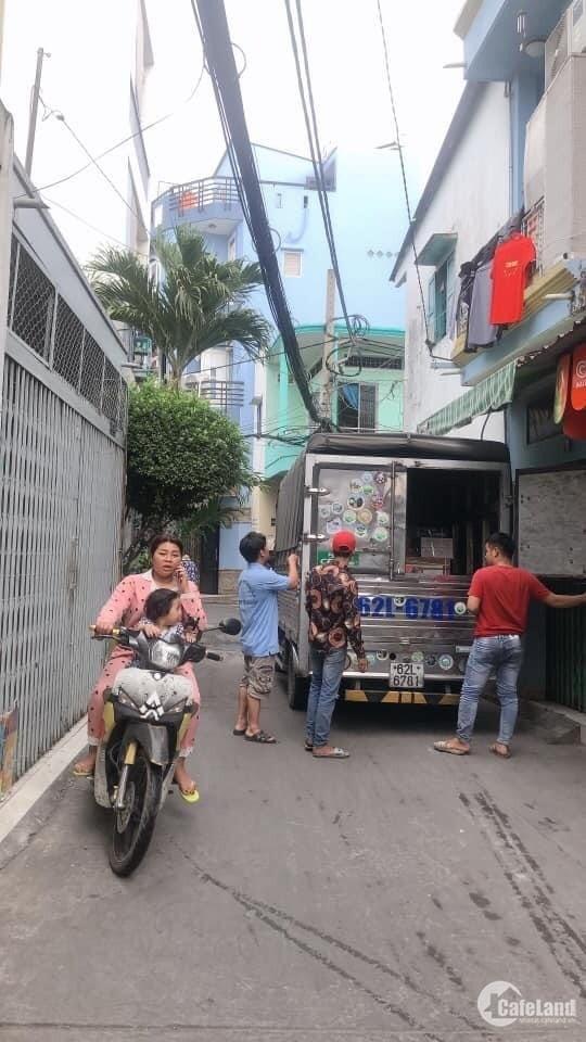Bán nhà hẻm xe tải tránh đường Lạc Long Quân Q.Tân Bình giá chỉ 4 tỷ 7