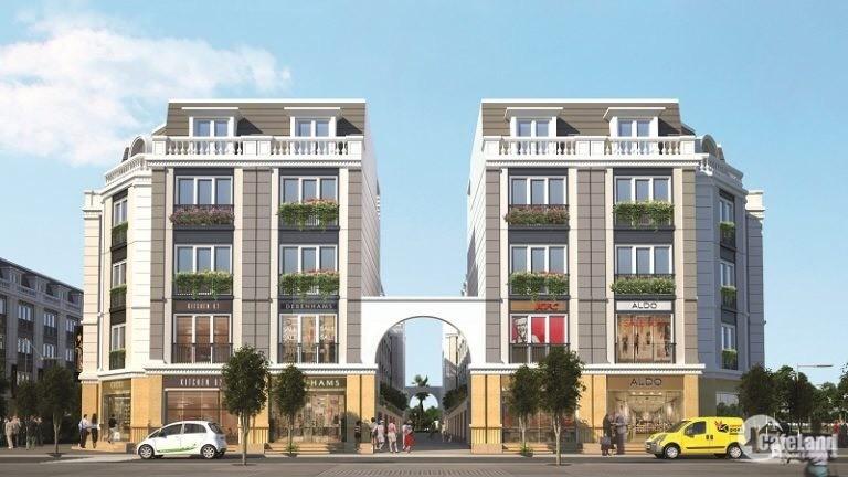 Bán căn nhà phố thương mại 2 mặt tiền, diện tích 84m2 giá tốt