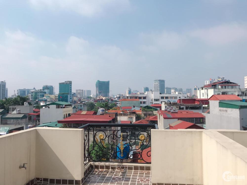 Nhà Mặt Ngõ Kinh Doanh, Thang Máy, Ngọc Hà 40m2 Nhà 7 tầng, Giá 6.9 tỷ.