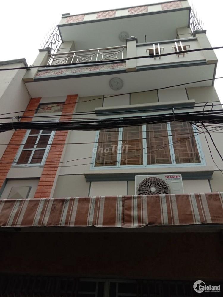 Nhà bán 195/35B Tôn Thất Thuyết , P3 thông hẻm 73 Khánh Hội