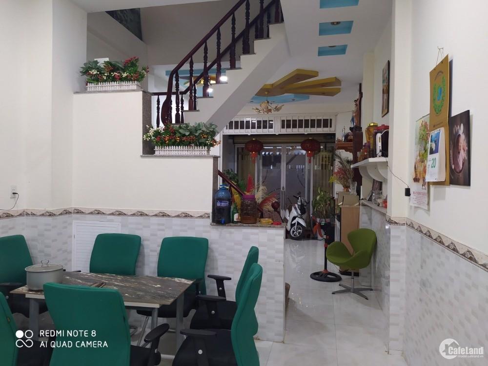4x25m Nhà 2 mặt tiền  Hẻm 4m 107/ đường số 14 , P. BÌnh Hưng Hòa A, Q. Bình Tân.