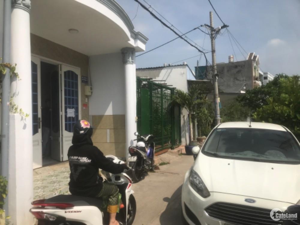 Nhà Hẻm xe hơi Hồ Văn Long, Bình Tân. Sổ riêng 3,5 tỷ