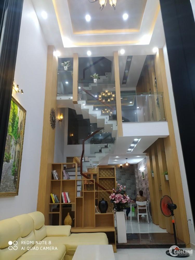 Phan Văn Trị HXH 1/ đối diện Cityland 67m2, 5 tầng, 7.1 tỷ TL