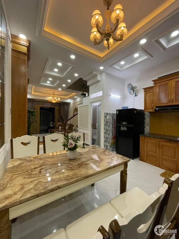 Nhà HXH 1/ Phan Văn Trị 62m2(4.2x15) 4 tầng full nội thất, chỉ 6.5 tỷ