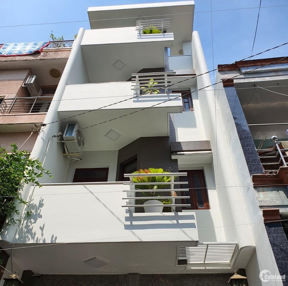 Định cư Nước ngoài bán gấp nhà 4 Tầng CMT8, Phường 5, Tân Bình, 4x15,60m2, 9.8tỷ