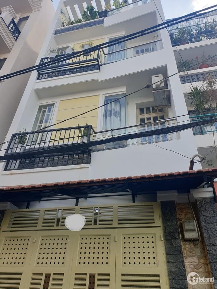 Bán nhà Tân Phú, hẻm 6m Khuông Việt,  88m2, 4 tầng, 100tr/m2