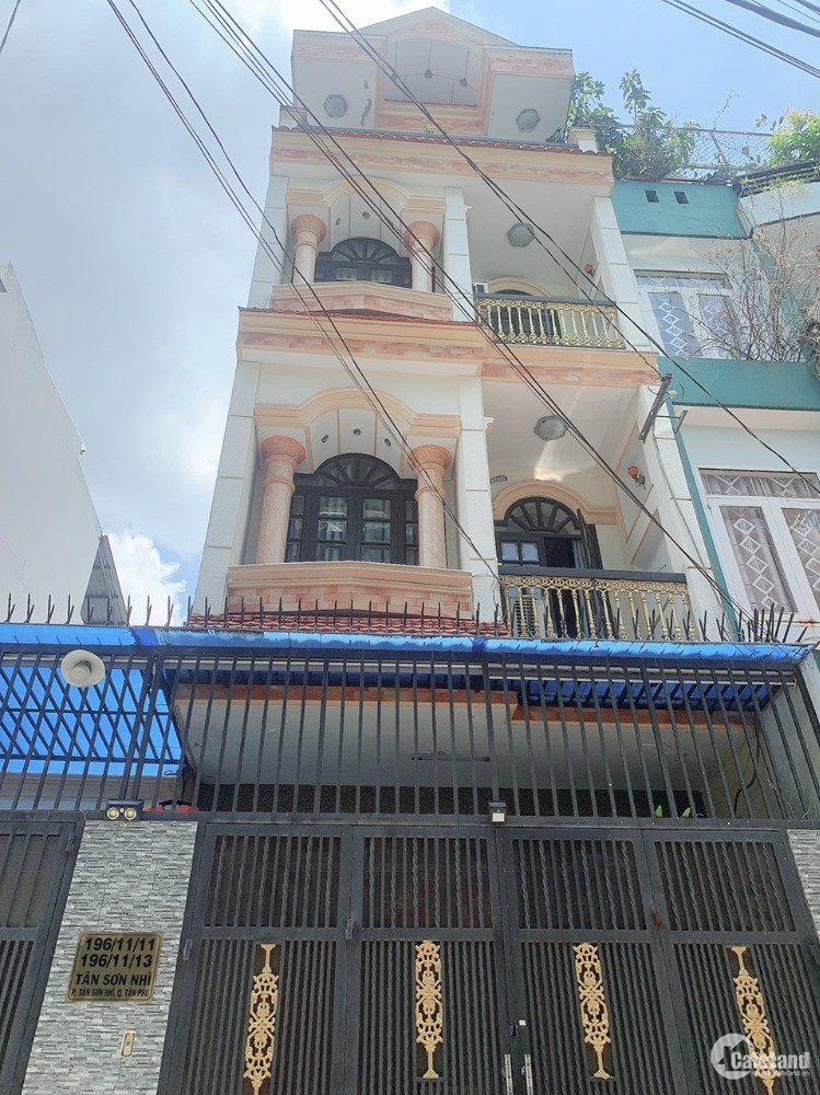 Chính chủ cần bán gấp nhà hẻm 196 Tân Sơn nhì,2 căn liền kề .Quận Tân Phú- TP HC