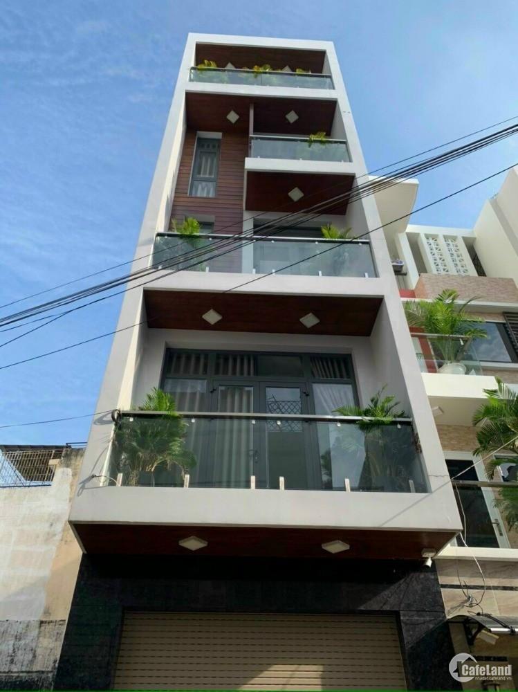 Bán nhà hẻm vip số 1 Cầu Xéo 4x20m 1 trệt 3 lầu sân thượng