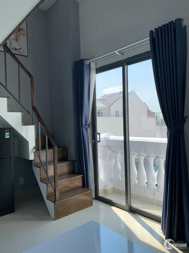 Cho thuê căn hộ đủ nội thất gần ĐH Tài Chính - Marketing quận 7