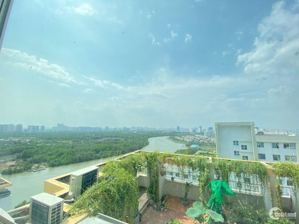 Belleza 3PN + 2WC: 102m2 giá 10.5triệu, view Phú Mỹ Hưng, nội thất hiện trạng