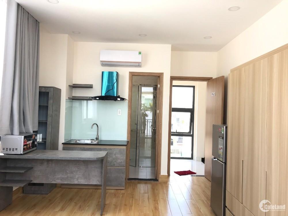 Căn hộ full nội thất có ban công view sông quận Phú Nhuận mới xây giá rẻ