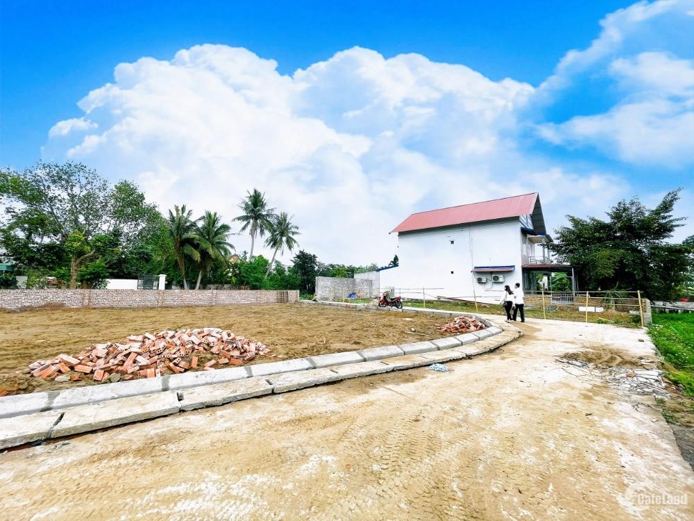 Chính chủ bán 10 lô đất Liền kề tại Quang Hưng, An Lão ngay Ngã tư Quang Thanh