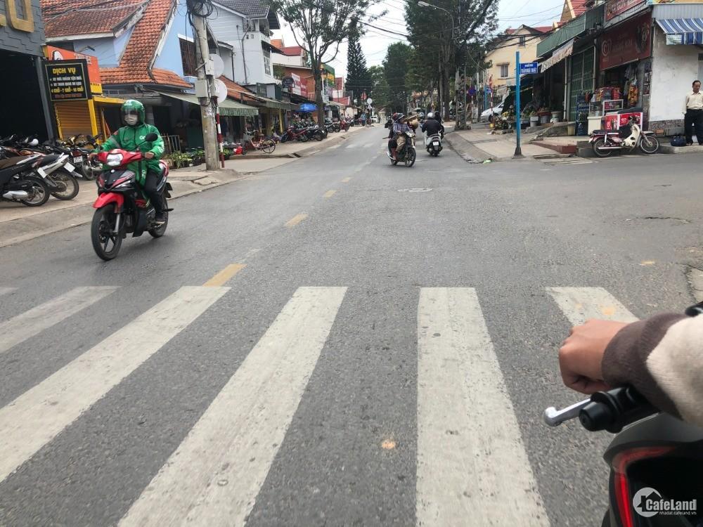 Bán lô đất 2 mặt tiền đường Hoàng Diệu thành phố Đà Lạt
