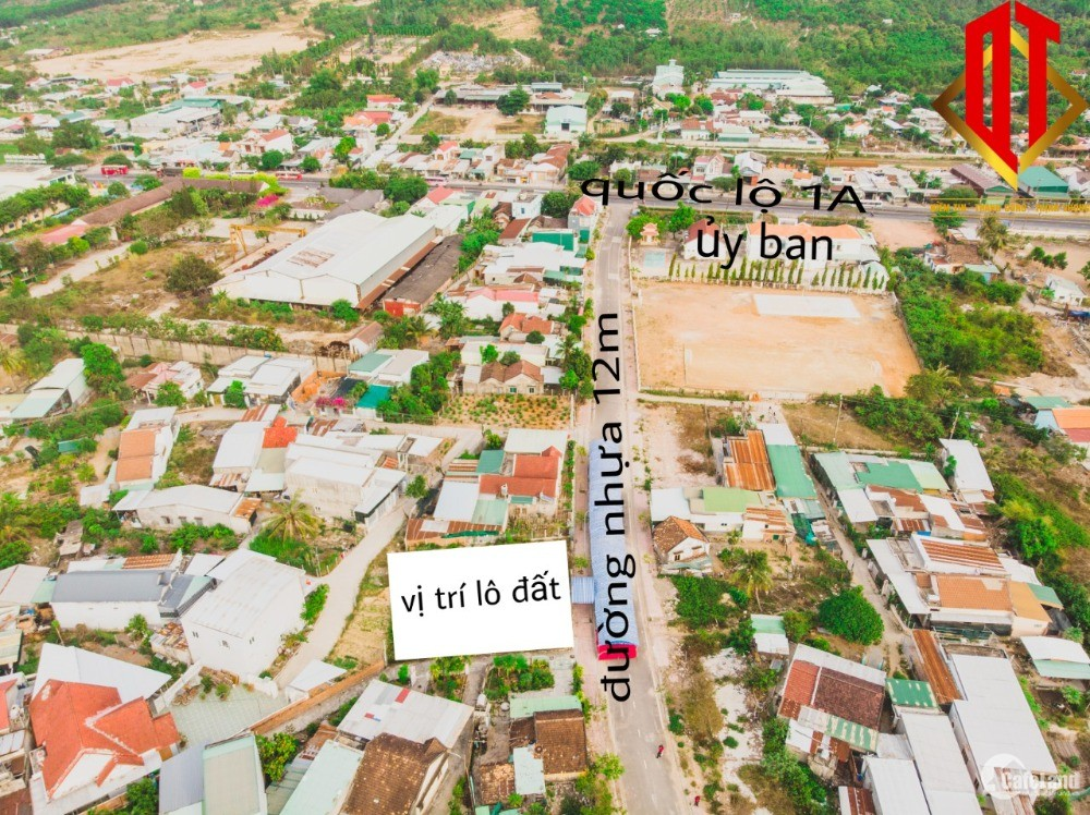 Đất thổ cư suối hiệp vị trí trung tâm, đường nhựa 12m.