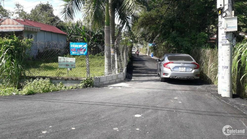 Bán đất 2 mặt tiền đường Ngô Thị Phiện-Củ Chi, DT(10*35m) full thổ cư