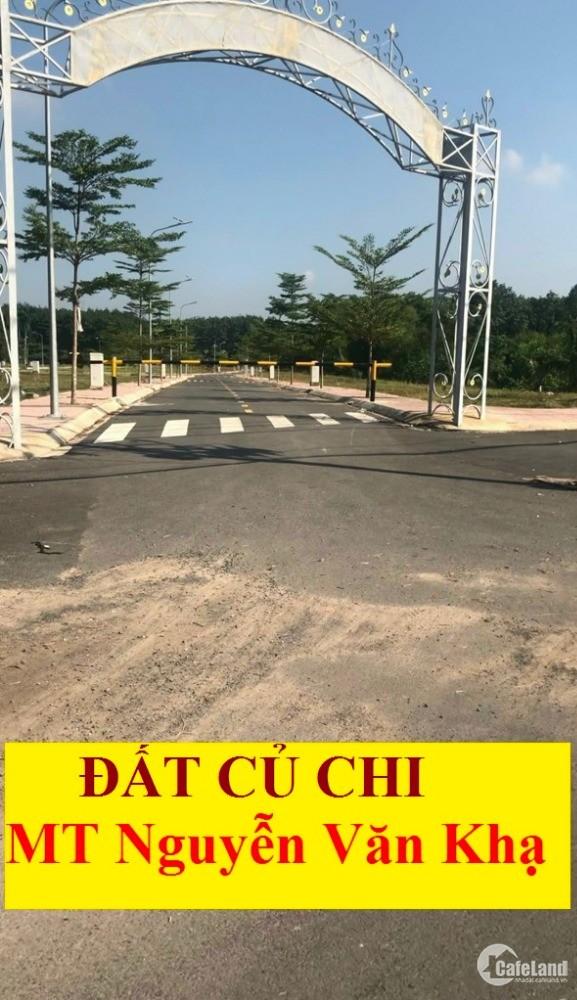 ĐẤT MT đường Nguyễn Văn Khạ. Xe tải quay đầu thoải mái. Liên hệ để được tư vấn.