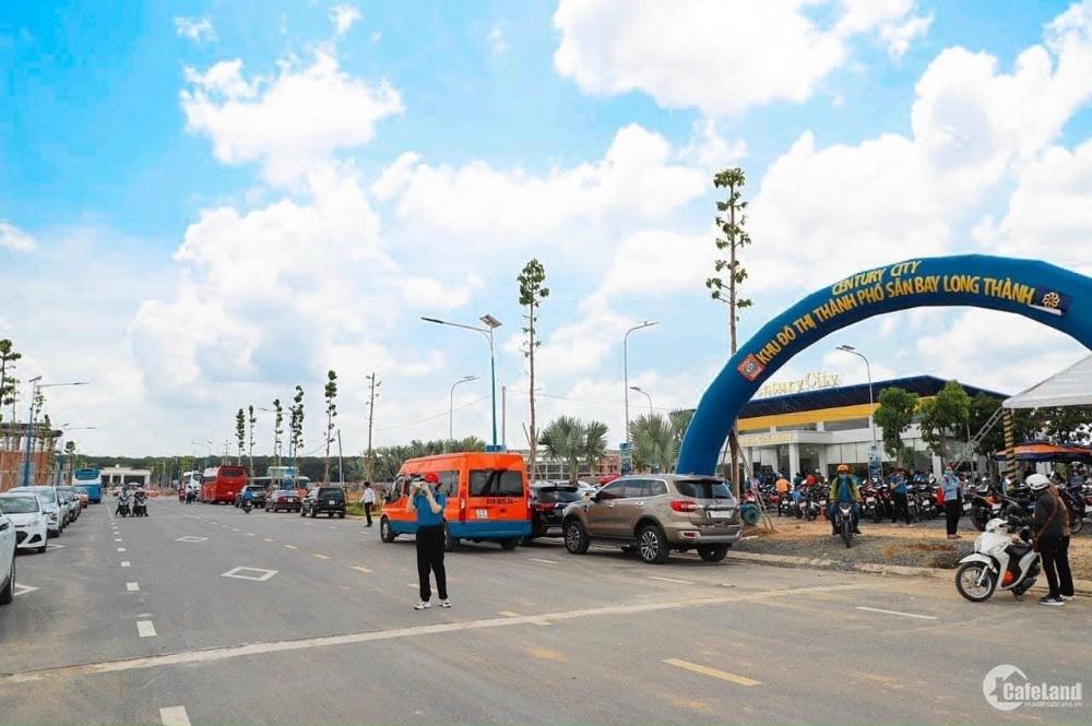 Cơ hội sở hữu đất sân bay Long Thành Century City, chỉ với 540 triệu.