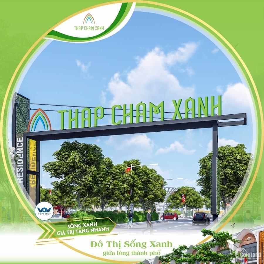 Đất nền dự án Tháp Chàm Xanh! Khu dân cư Xanh đầu tiên tại Ninh Thuận
