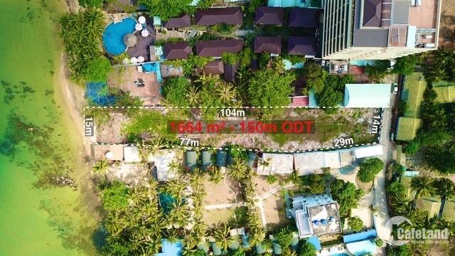 Bán mảnh đất mặt biển Trần Hưng Đạo TP Phú Quốc