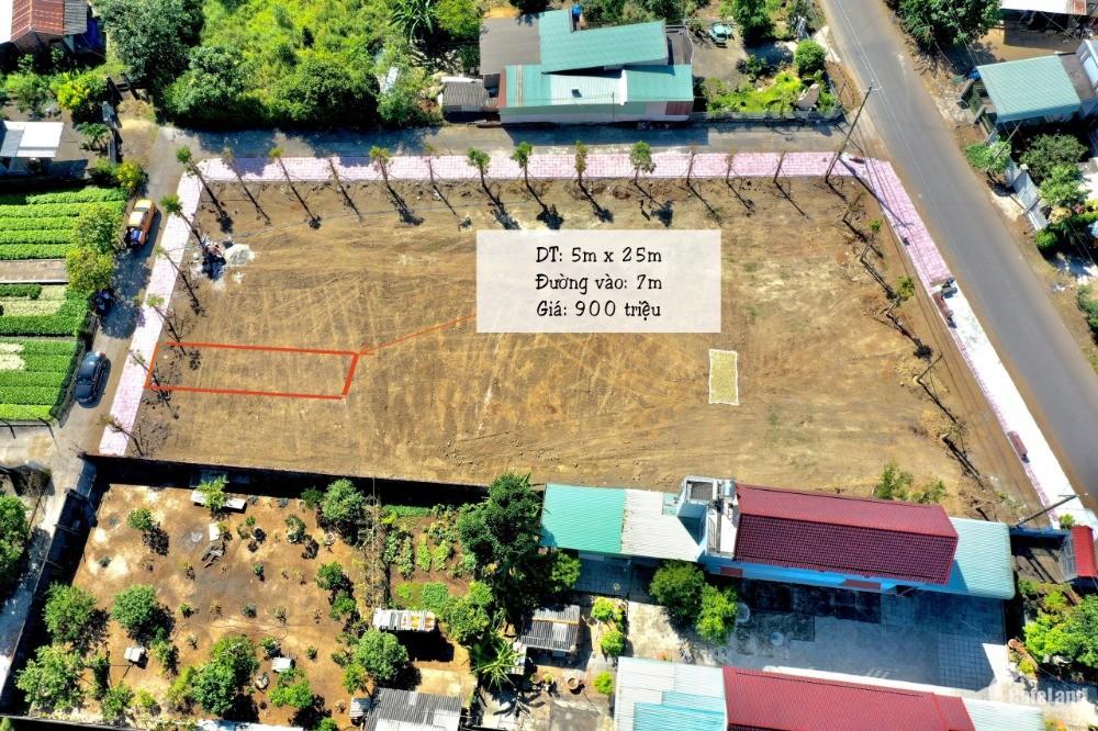 Bán lô đất MT đường 20m, DT:125m2 ,đã có sổ riêng, giá chỉ 900 triệu, TX Phú Mỹ