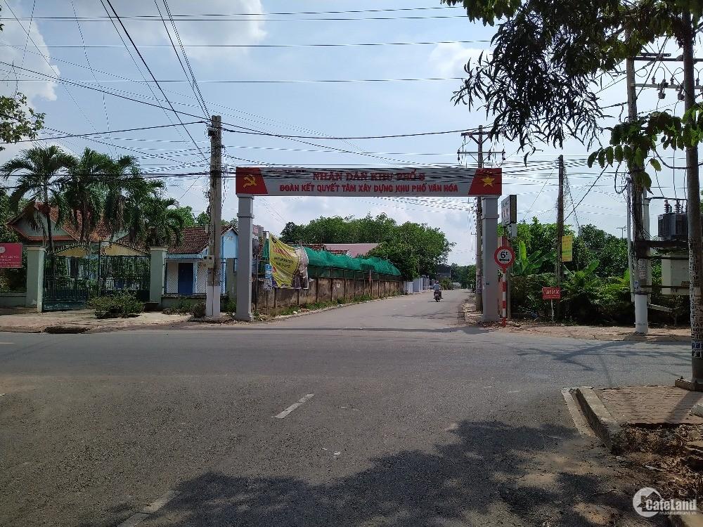Bán lô đất tại khu TĐC Tân An phường Tương Bình Hiệp TP TDM Bình Dương .