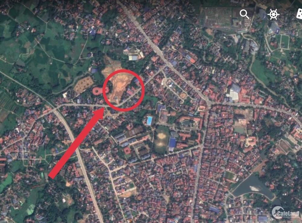 Cần Bán Lô Đất Đẹp 2 Mặt Tiền Giữa Trung Tâm Tp Thái Nguyên 0969355691