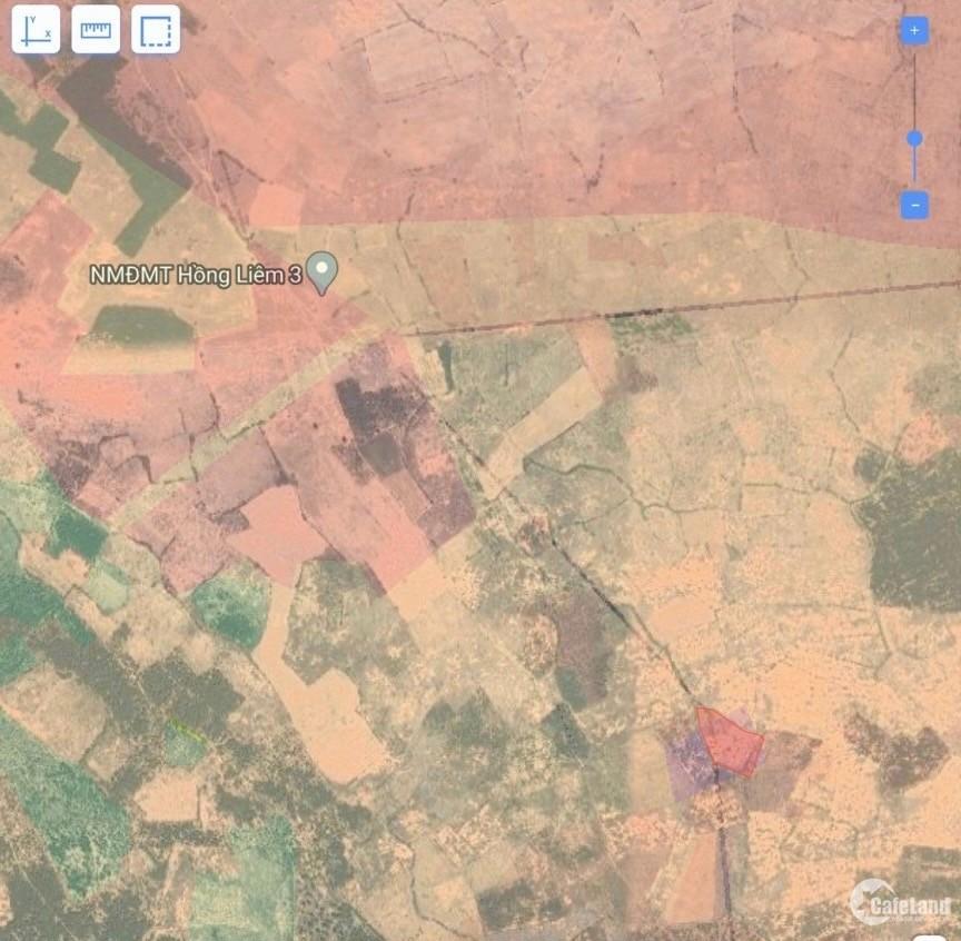 Bán lô đất nằm ngay đường liên xã tương lai 2 mặt tiền đường
