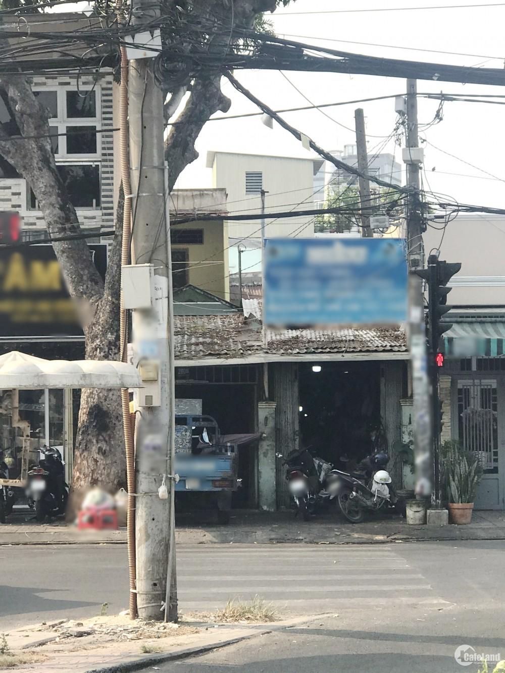 Nhà cấp 4 căn góc mặt tiền kinh doanh Phạm Thế Hiển P3 Q8